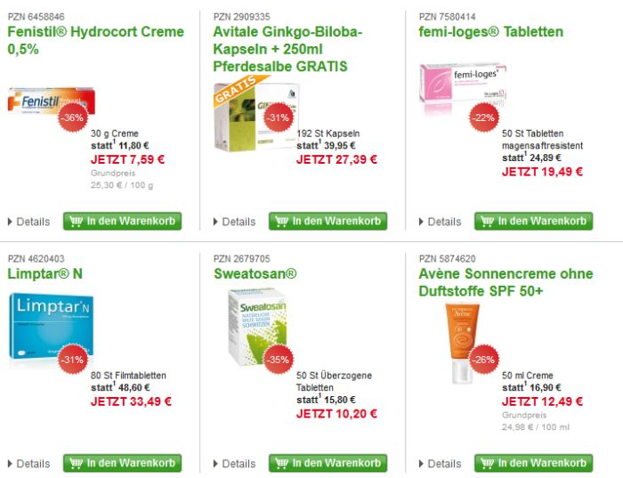 europa apotheek Topseller