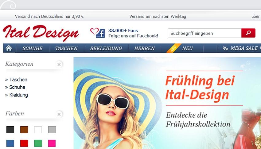 Ital Design Gutschein