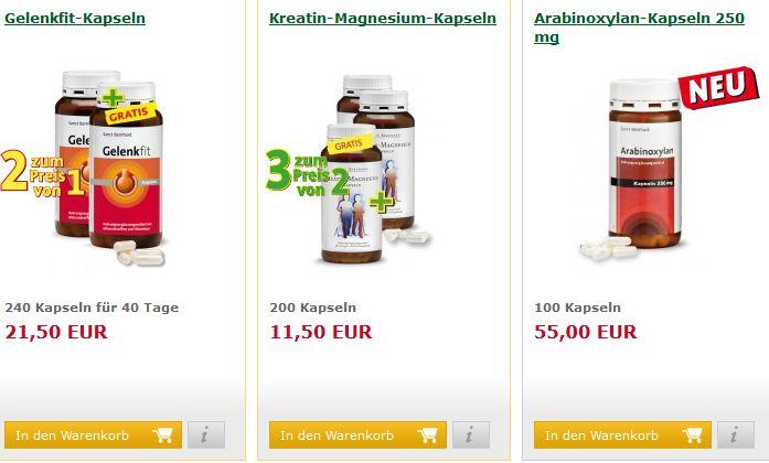 Kräuterhaus Sanct Bernhard Angebot