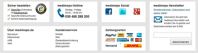 medimops Service