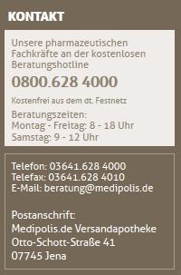 Medipolis Kontakt