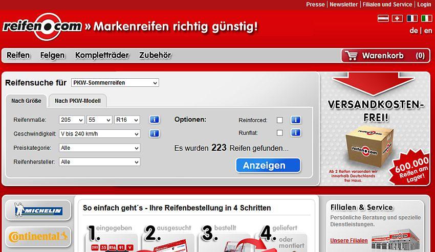 Reifen.com Gutschein