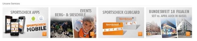 SportScheck Service