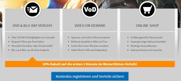 Videobuster Konto