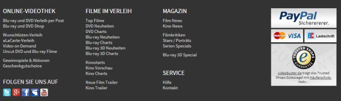Videobuster Service